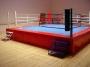 Ринг боксерский 6х6м на помосте 7х7х1 м.