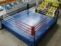 Ринг боксерский 6х6м на помосте 7х7х0,5 м.