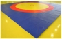 Ковер борцовский трехцветный 12х12м, 5 см, 100-120 кг\м3.