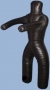 Манекен для борьбы 35-42кг, 1,4м, две ноги, н.кожа.