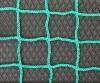 Сетка защитная зеленая, нить 6мм, ячейка 100х100мм, беузловая.