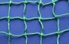Сетка защитная зеленая, нить 5мм, ячейка 100х100мм, узловая.