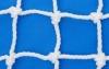 Сетка защитная белая, нить 4,5мм, ячейка 100х100мм, узловая.