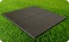 Резиновое напольное покрытие SF, толщиной 10 мм, черное.