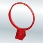 Кольцо баскетбольное антивандальное.