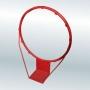Кольцо баскетбольное массовое С2, без сетки.