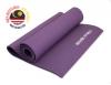 Коврик для йоги фиолетовый 6мм, 1,9х0,6м.