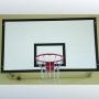 Щит баскетбольный антивандальный 180х105 мм.