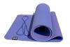 Коврик для йоги сиреневый 6мм, 1,83х0,615м.