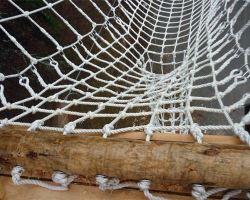 Сетка из верёвки своими руками